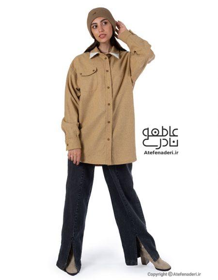 پیراهن یونیسکس پاییزه عاطفه نادری